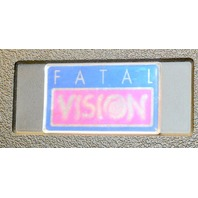 Fatal Vision Experience Learing Kit. Case, 6 Goggles, 2 Tapes -  Used