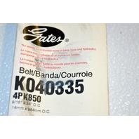 Gates K040332 - Alternate Number 4PK843 - Micro-V Belt New Old Stock
