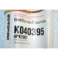 Gates K040395 - Alternate Number 4PK1007- Micro-V Belt - New Old Stock