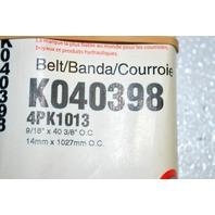 Gates K070398 - Alternate Number 4PK1013- Micro V Belt - New Old Stock