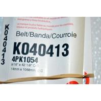 Gates K040413 - Alternate Number 4PK804 - Micro-V Belt - New Old Stock