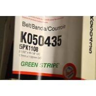 Gates K050435 - Alternate #5PK1108 - Serpentine Belt - New Old Stock