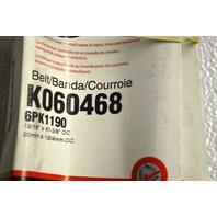 Gates K060468 - Alternate #6PK1190 - Serpentine Belt - New Old Stock
