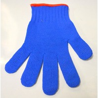 Cut Resistant Glove - Blue - Used by Fisherman, Butchers, Gardeners and more.