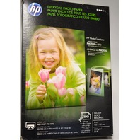 "HP Everyday Photo Paper-100 4""x6"" Glosssy Sheets - #Q5440A"