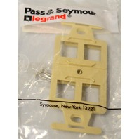 Pass & Seymour Legrand Quad 106 Frame - KSQP106-1 - Light Almond