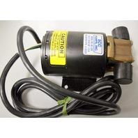 SCC Pumps, Inc. #AC-226, 220V, 50/90Hz, 1.0A - 6' cord.