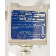 Metrix Vibration Switch - Model 5097-80 - Switch:250VAC 5A .75 turns