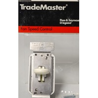 Pass & Seymour - Trade Master Short Slide Fan Speed Switch 333C5-W 5A, 120 VAC