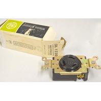 GE GL 1220 Single Locking Receptacle 3 Pole, 3 Wire - 20 A-480V 3 Phase.