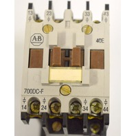 Allen Bradley 700DC-F400* Series B - Control Relay - 24 V