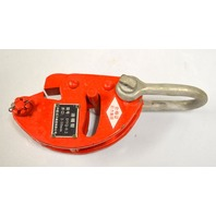 Vertical Lifting Clamp DFQ 1.5 Ton, 0-20mm