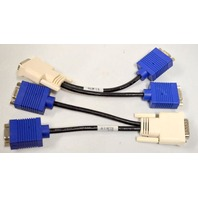 HP Bizzlink #338285-009, DMS 59, VGA DB15 to Dual VGA Splitter - 2 pieces