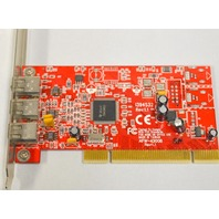 Adaptec AFW-4300B, Firewire 1394, 2 port PCI Card, 1394S32.