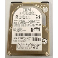 """IBM Travelstar Model#DJSA-205, PN:07N6439, 5.00GB, 5V, 2.5"""" hard drive. 4200 RPM"""