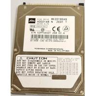 "Toshiba #MK2018GAS, 5VDC, 2.5"" Hard Drive, 20GB, 4.2K"