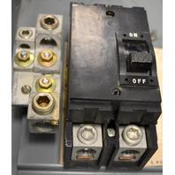 Square D-Q2-225-S, 200 Amp Circuit Breaker-2 Pole-Server A1, Max Rating 225 Amp