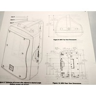Wall/Ceiling Bracket Kit for Bosch (ElectroVoice)   #F01U118.940 w / Instructions
