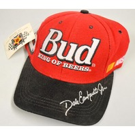 Collectors Nascar Hat - #8 Bud King of Beers with Dale Earnhardt Jr. signature.