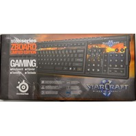 steelseries ZBOARD Limited Edition Gaming-StarCraft Wings of Liberty Keyboard.