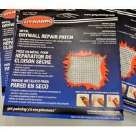 1 - Dynamic LF044001 Metal Drywall Repair Patch, 4-Inch by 4-Inch.