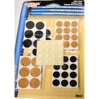 Shepherd #9943 Surface Gard Value Pack-Self Stick Cork,Foam and Vinyl Pads