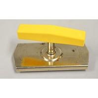 Vintage Edlund Top Off Jar and Bottle Opener.  Yellow plastic handle.
