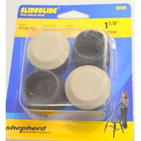 "Shepherd #9220-1 1/8"" Slideglide, 4 Leg Rugger Tips - Slides Objects easily."