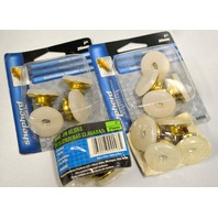 "Shepherd #9098 - Pk of 4 1"" Nail-On Swivel Glides - 4 packs."