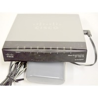 Cisco SF100D-08 8-port 10/100 Desktop Switch w/AC Adapter