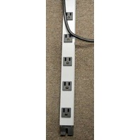 Wiremold Relocatable Power Tap #99244 - 18 Outlets - 20A, 120V, 60 Hz.