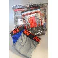 "Men's Puma 3 pack TECH Cool Cell ""Size XL""  Blue Combo Pack - 8 Pair"