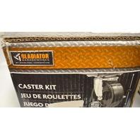 Gladiator Garageworks #GACK04KDSX Steel Modular Gear Box Caster Kit