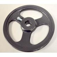 "Cast Iron Pulley - 8"" V belt - 1"" Shaft Size #VE1YNW8BPG"