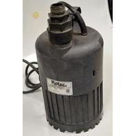 Flotec #FP0S3000X Submersible Utility Waterfall Pump 4/10Hp, 3000Gph, 115V