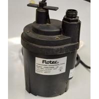 Flotec Sump Uitlity Pump #FP0S1300X-08 Submersible, 115V 5.0A 1/6HP