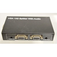 VGA 1X2 Splitter with Audio, DC/5V