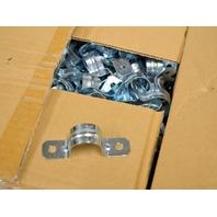 "Two Hole Steel Conduit Straps Rigid 1/2"" #3KF78G - 200 pc per box."