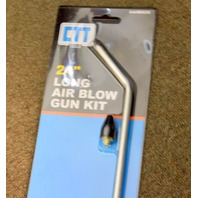 "CTT 24"" Long Air Blow Gun Kit w/Trigger 1/4"" NPT - Rubber Tip.  AAHBG24"