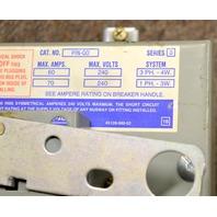 Square D #PIN-QO /serues 3 /breaker Busway Plug 60A,240V, 3 PH, 4W w/Handle