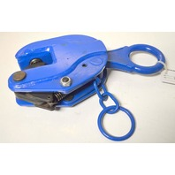 Vestil #LPC-40 Positive Locking Plate Clamp, 4000 lbs capacity.