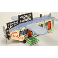 "Lefton 1994 ""Airplane Cafe"" from Roadside USA Collection"