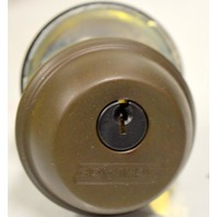 "Schlage Single Cylinder Deadbolt B60N 613 - 13/4"" DR."