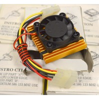 Chip Cooling Heatsink Fans - 10 pcs - New.