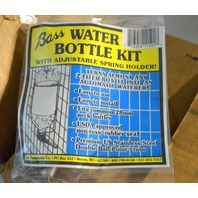 Bass Water Bottle Kit for Animal Cages with adjustable Spring Holder - 10 pcs.