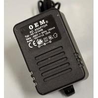 AC Adaptor 230V~, 50Hz, 150mA / AD-121ANB  12V 1A 12VA by OEM