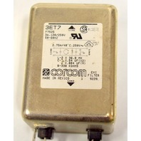 Tyco Corcom 3ET7 - EMI Filter 3A, 120/250V, 50-60 Hz