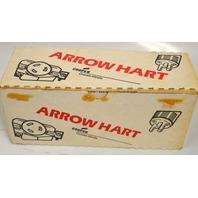 Arrow Hart #5252 Duplex Receptacle box of 10 - Brown- 2P 3W 1SA 125W.