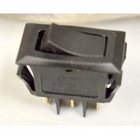 Defond 2 Pole Rocker Switch 16A - 125VAC, 8A - 250VAC   -1 Switch