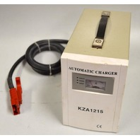 Automatic Charger KZA1215 - 110V, 12Amp, 50/60 Hz - New